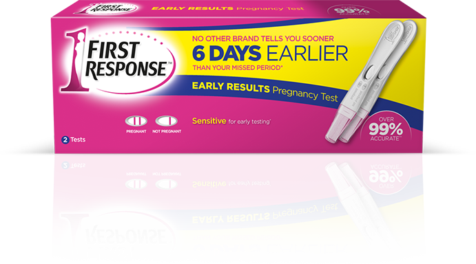 FIRST RESPONSE™ Early Result Pregnancy Test